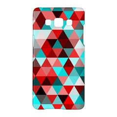 Geo Fun 07 Red Samsung Galaxy A5 Hardshell Case
