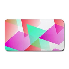 Geometric 03 Pink Medium Bar Mats