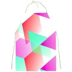 Geometric 03 Pink Full Print Aprons