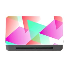 Geometric 03 Pink Memory Card Reader with CF