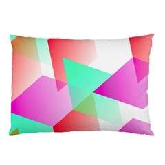 Geometric 03 Pink Pillow Cases (two Sides)
