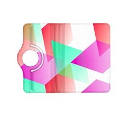 Geometric 03 Pink Kindle Fire Hd (2013) Flip 360 Case