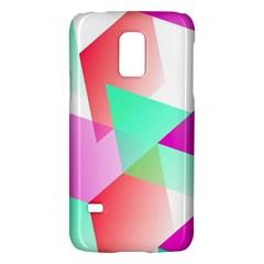 Geometric 03 Pink Galaxy S5 Mini