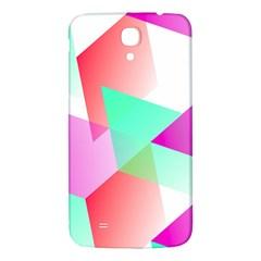 Geometric 03 Pink Samsung Galaxy Mega I9200 Hardshell Back Case