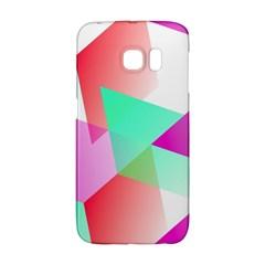Geometric 03 Pink Galaxy S6 Edge