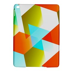 Geometric 03 Orange iPad Air 2 Hardshell Cases