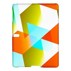 Geometric 03 Orange Samsung Galaxy Tab S (10.5 ) Hardshell Case