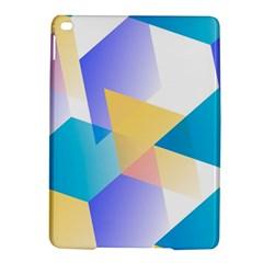 Geometric 03 Blue iPad Air 2 Hardshell Cases