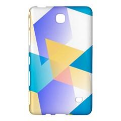 Geometric 03 Blue Samsung Galaxy Tab 4 (7 ) Hardshell Case