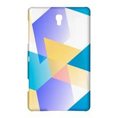 Geometric 03 Blue Samsung Galaxy Tab S (8.4 ) Hardshell Case