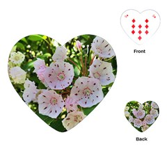 Amazing Garden Flowers 35 Playing Cards (heart)