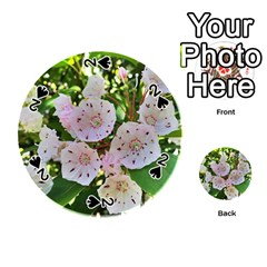 Amazing Garden Flowers 35 Playing Cards 54 (round)