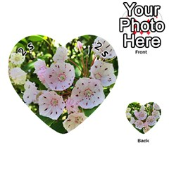 Amazing Garden Flowers 35 Playing Cards 54 (heart)