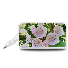 Amazing Garden Flowers 35 Portable Speaker (White)