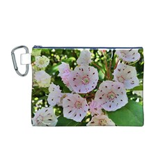 Amazing Garden Flowers 35 Canvas Cosmetic Bag (M)