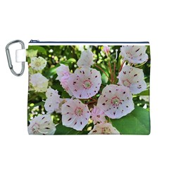 Amazing Garden Flowers 35 Canvas Cosmetic Bag (L)