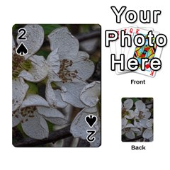 Amazing Garden Flowers 32 Playing Cards 54 Designs
