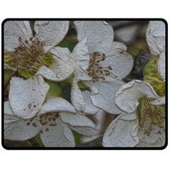 Amazing Garden Flowers 32 Fleece Blanket (Medium)