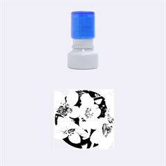 Amazing Garden Flowers 32 Rubber Round Stamps (Small)