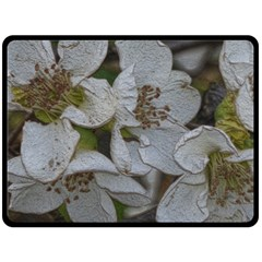 Amazing Garden Flowers 32 Double Sided Fleece Blanket (Large)