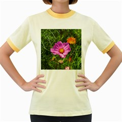 Amazing Garden Flowers 24 Women s Fitted Ringer T Shirts