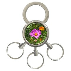 Amazing Garden Flowers 24 3 Ring Key Chains
