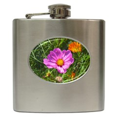 Amazing Garden Flowers 24 Hip Flask (6 Oz)
