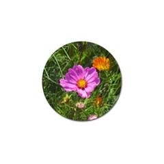 Amazing Garden Flowers 24 Golf Ball Marker (4 Pack)