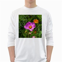 Amazing Garden Flowers 24 White Long Sleeve T Shirts