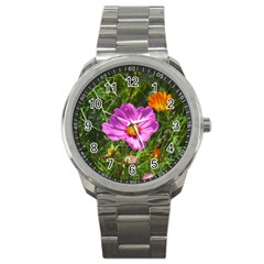 Amazing Garden Flowers 24 Sport Metal Watches