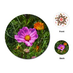 Amazing Garden Flowers 24 Playing Cards (round)
