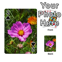 Amazing Garden Flowers 24 Playing Cards 54 Designs