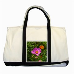 Amazing Garden Flowers 24 Two Tone Tote Bag
