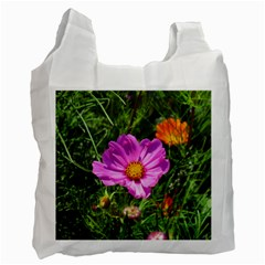 Amazing Garden Flowers 24 Recycle Bag (two Side)