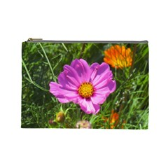 Amazing Garden Flowers 24 Cosmetic Bag (large)