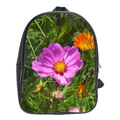 Amazing Garden Flowers 24 School Bags(large)
