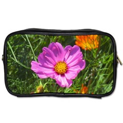 Amazing Garden Flowers 24 Toiletries Bags 2 Side