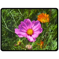 Amazing Garden Flowers 24 Fleece Blanket (large)