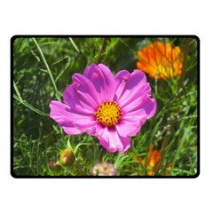 Amazing Garden Flowers 24 Fleece Blanket (small)