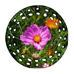 Amazing Garden Flowers 24 Ornament (Round Filigree)