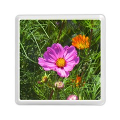 Amazing Garden Flowers 24 Memory Card Reader (Square)