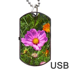 Amazing Garden Flowers 24 Dog Tag USB Flash (Two Sides)