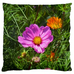 Amazing Garden Flowers 24 Large Flano Cushion Cases (two Sides)