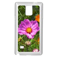 Amazing Garden Flowers 24 Samsung Galaxy Note 4 Case (White)