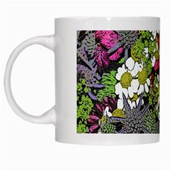 Amazing Garden Flowers 21 White Mugs