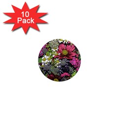 Amazing Garden Flowers 21 1  Mini Magnet (10 Pack)
