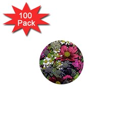 Amazing Garden Flowers 21 1  Mini Magnets (100 Pack)