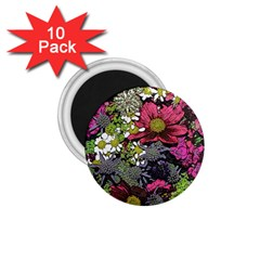 Amazing Garden Flowers 21 1 75  Magnets (10 Pack)