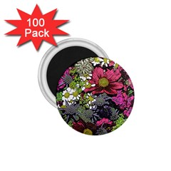 Amazing Garden Flowers 21 1 75  Magnets (100 Pack)