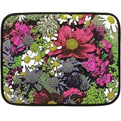 Amazing Garden Flowers 21 Fleece Blanket (mini)